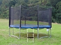Trampoline with Safety Enclosure &