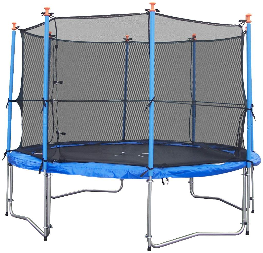 Trampoline With Inside Safety Enclosure 1