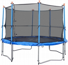 Trampoline With Inside Safety Enclosure