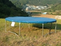 PVC Weather Cover for Trampoline (Navy Blue Colour) 1