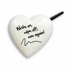 Heart Shape Message Board