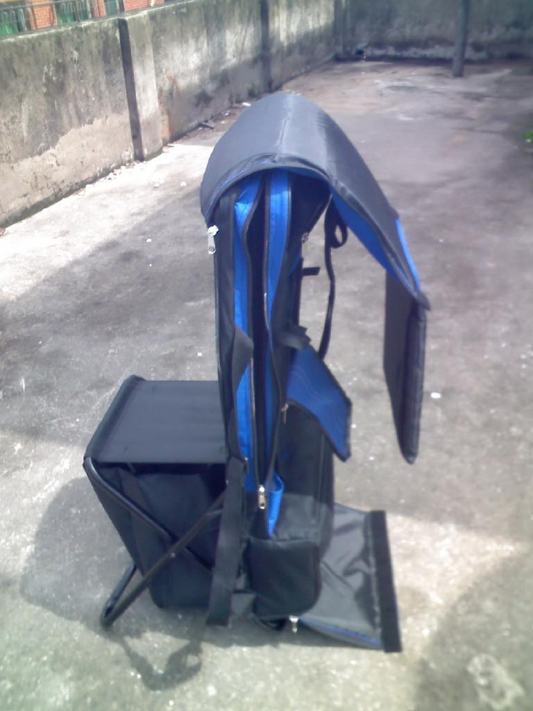 多功能折合靠背釣魚椅 2