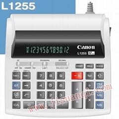 CANON 佳能L1255計算器 銀行專用機