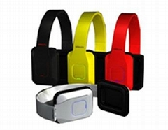 Foldable NFC bluetooth headset