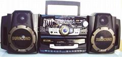 radio double-cassette recorder 1100