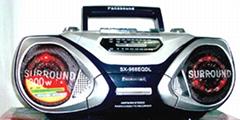 radio cassette recorder 968DL