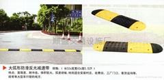 大弧形防滑反光減速帶