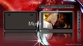 4.3 inch full touch-screen MP4/MP5 Player 4GB/8GB