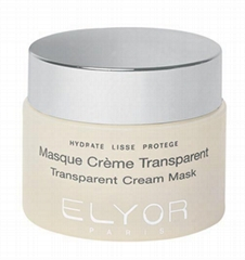 TRANSPARENT  CREAM  MASK