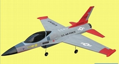 RC HOBBY:F16 AIRPLANE 100% Assembled (RTF)