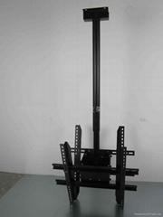 26寸-42寸吊挂式双液晶电视机支架