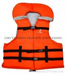 life vest, life jacket, for boat and yacht work