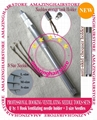 3x Hooking Ventilating Needle+Holder KIT Make Lace Wigs