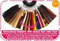 International Standard 100% Human Hair Extensions COLOR RINGS