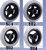 "PU wheel / Tyre Size 5"" / 6"" / 7"" / 8"""