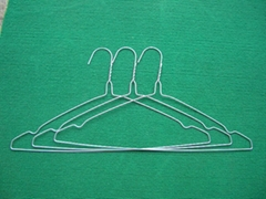 wire hanger with nocked