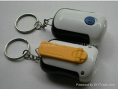 Rotary Mini Torch keychain