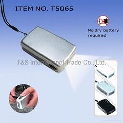 Mini LED Dynamo Flashlight (T5065)