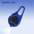 solar LED keychain light