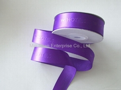 Satin Ribbon with Debossed Ribbon