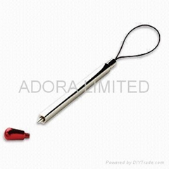 metal pen mobilephone charm