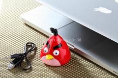 min speaker bird shape