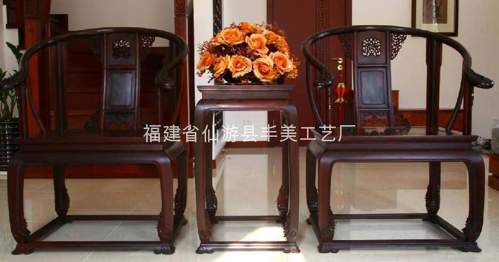 印度小叶紫檀皇宫椅 - YDXY - 丰美 (中国 福建省