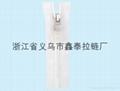 5号树脂透明齿透明布带拉链