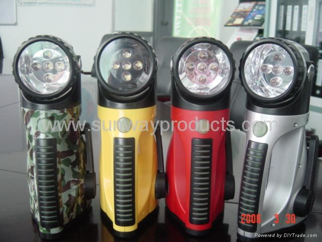 LED dynamo flashlight 1