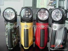 LED手搖手電筒