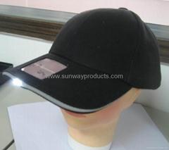 Solar LEDlighting cap