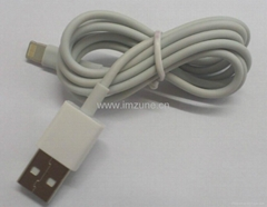 8pin 8 pin lightning usb data cable for iphone 5,ipad mini,ipad 4 ipad touch 5