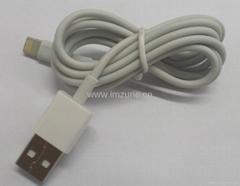 8pin 8 pin lightning usb data cable for iphone 5,ipad mini,ipad 4 ipad touch 5