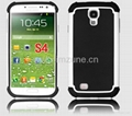 samsung galaxy s4 HYBRID Shell Rugged Impact Armor PC+ Silicon Hard Case Cover