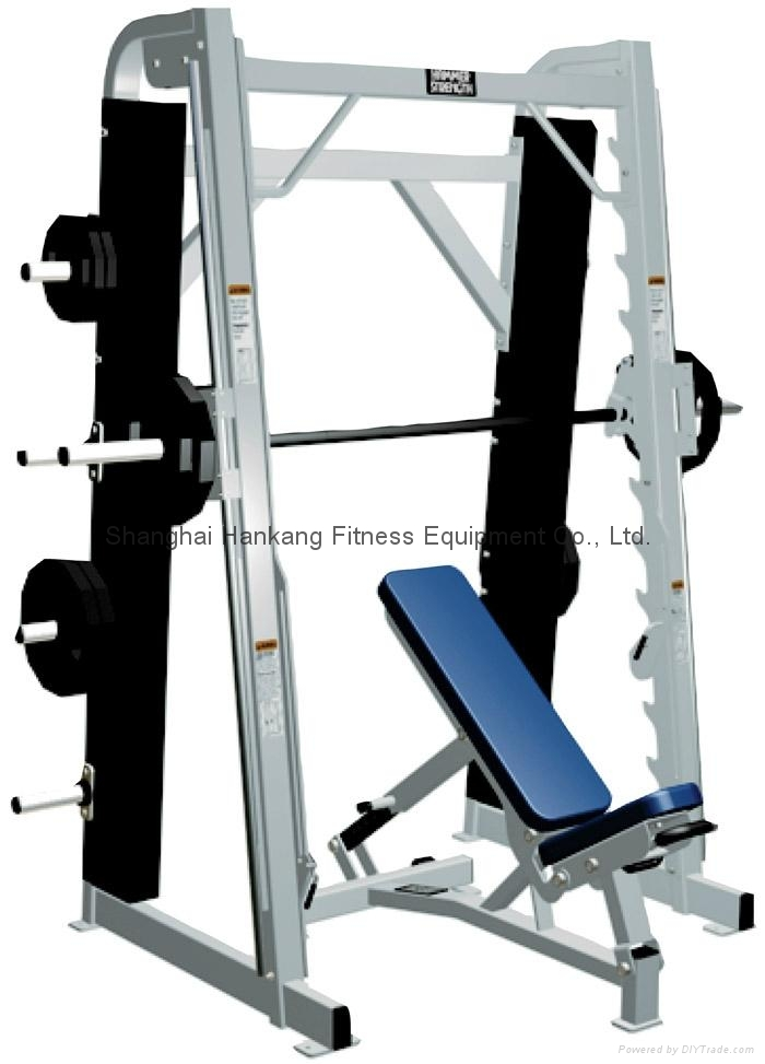 fitness equipment,home gym,body-building,Smith Machine,HS-4023 1