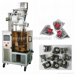 Nylon triangle tea packaging machine