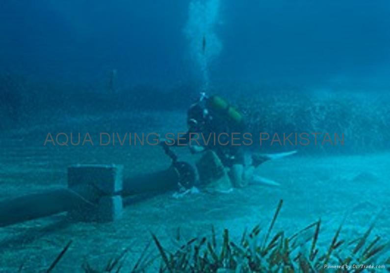 Underwater Marine Cable Pipe Laying Support Pakistan