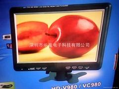 9.8 TV monitor
