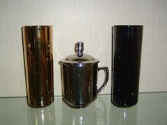Electroplating mug