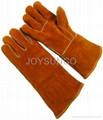 Welding Leather Glove (WCBY02)