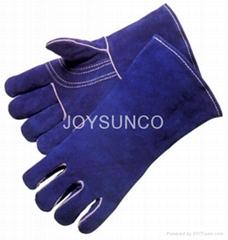 Welder Glove / Leather Gloves (WCBB03)