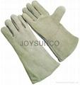 Leather Welding Glove (WCBN01)