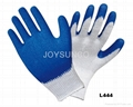 Latex Coated Glove with T/C Liner