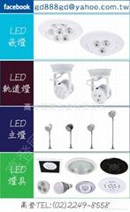 LED可調式嵌燈&LED軌道燈