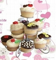 3-tier cup cake stand