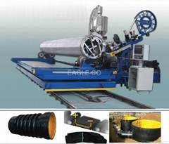 HDPE/PP Profiled Pipes Production Lines (Hot Product - 8*)