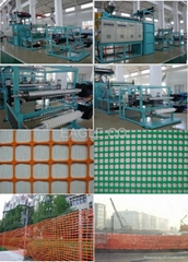 PE square mesh machine