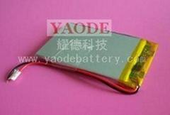 单体3.7V聚合物锂离子电池组