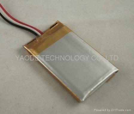 GPS導航儀用 3.7V 1000mAh 鋰聚合物電池 1