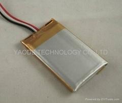 GPS導航儀用 3.7V 1000mAh 鋰聚合物電池